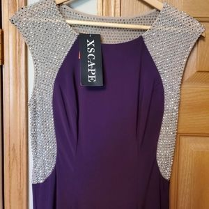 Xscape Dress size 8 New with tags.